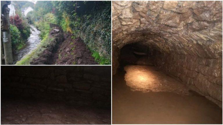 Zbulohen tunele misterioze në Uells