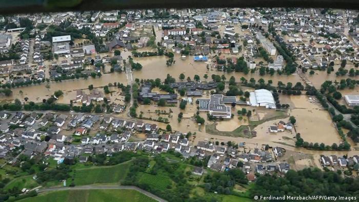 Sa ndikojnë ndryshimet klimatike në përmbytjet në Gjermani?