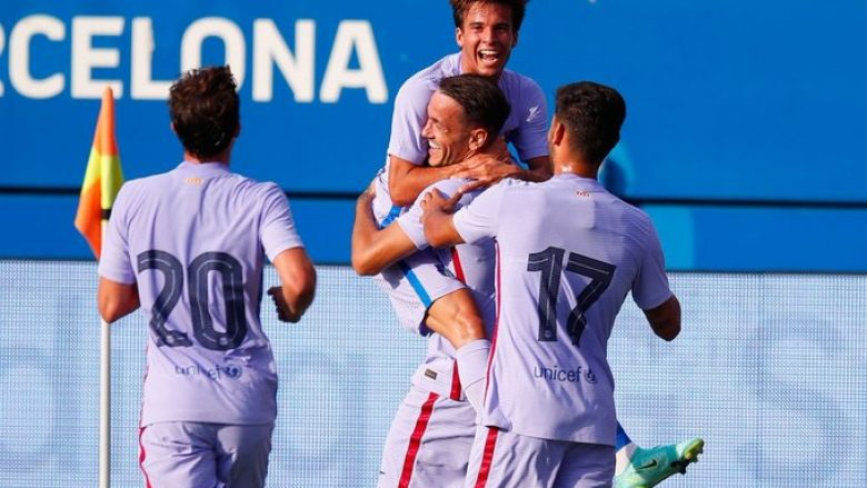 Rey Manaj shënon sërish për Barcelonën, shikoni golin