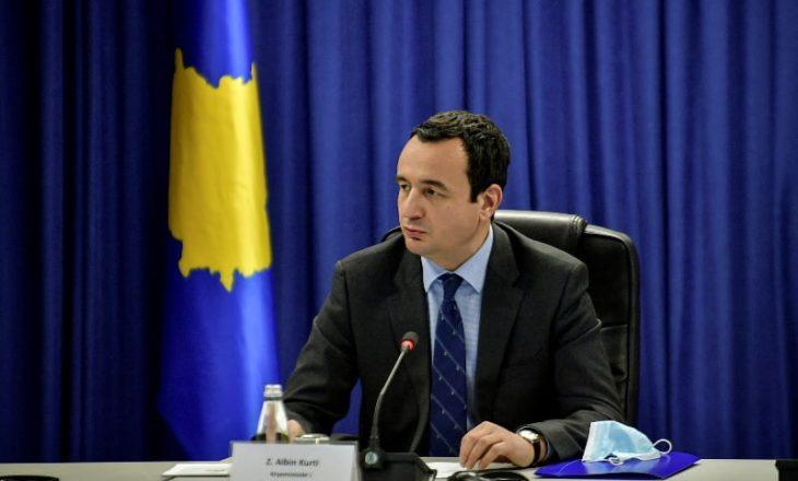 Kurti anulon vizitën zyrtare në Austri, do të thërras mbledhjen e Këshillit të Sigurisë Kombëtare