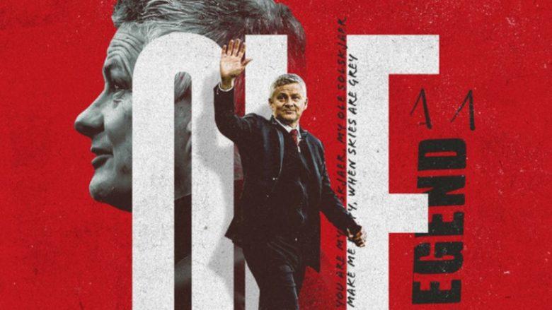 Zyrtare: Manchester Unitedi 'blindon' me kontratë të re trajnerin Solskjaer