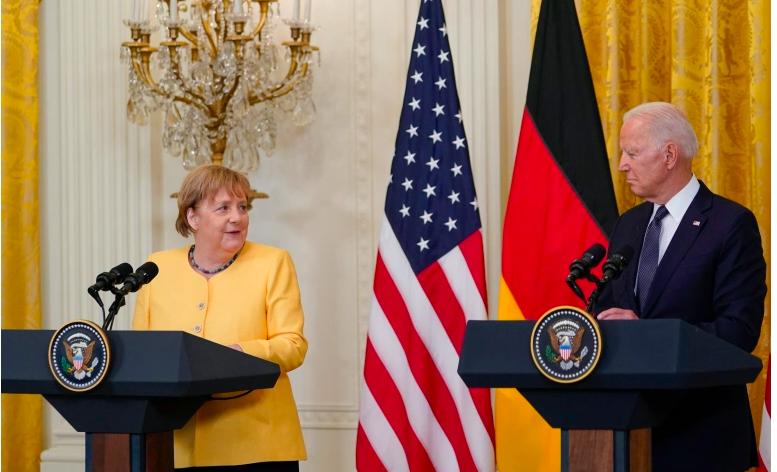 Biden dhe Merkel të bashkuar kundër Rusisë, mosmarrëveshjet mbeten