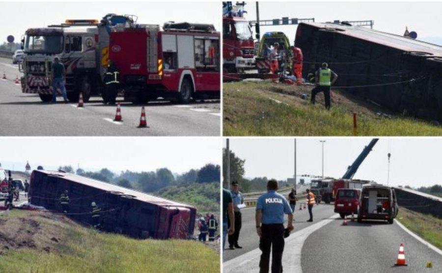 Identifikohen viktimat e aksidenti tragjik në Kroaci