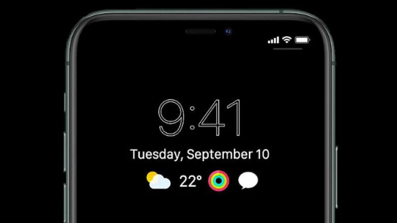 iPhone i ri mund të ketë një ekran gjithmonë të ndezur si Apple Watch