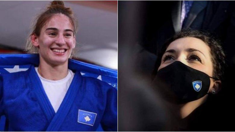 """""""Në këtë dite zie për popullin tonë, Nora Gjakova i solli dritë Kosovës"""" – Presidentja falënderon xhudisten për suksesin e arritur"""