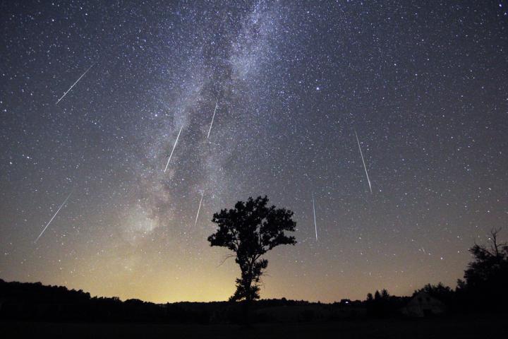 Shi meteorësh gjatë gushtit