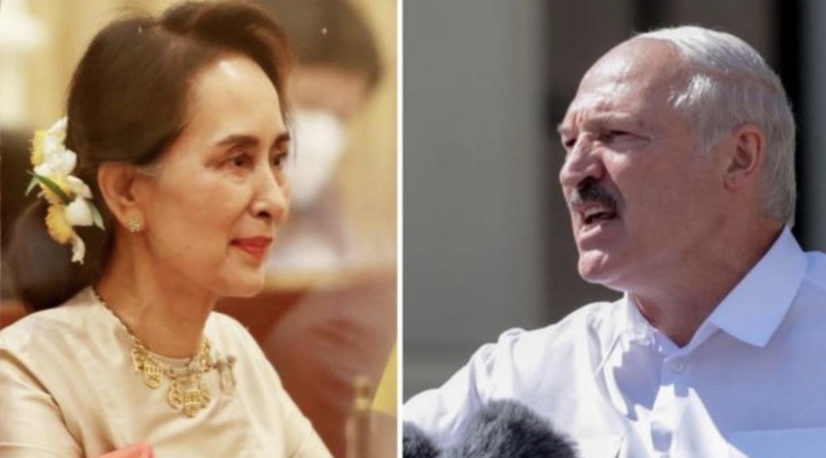 """Nga Birmania në Bjellorusi: Kur diktatorët tentojnë të sillen si """"shpëtimtarët"""" e atdheut"""