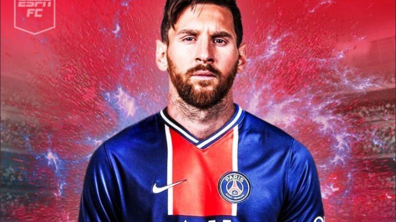 ESPN: E kryer, Messi përfundon sot ose nesër testet mjekësore te PSG