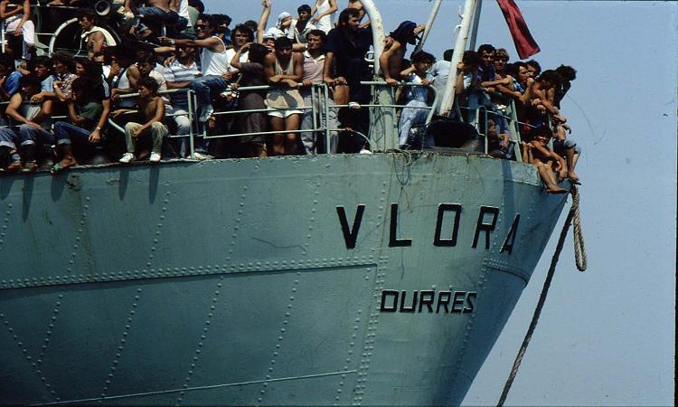 8 gusht 1991, Durrës-Tiranë