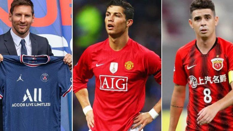 Ronaldo bëhet futbollisti i pestë më i paguar në botë pas kalimit te Man Utd – Messi i prinë listës, Lewandovski i dhjeti