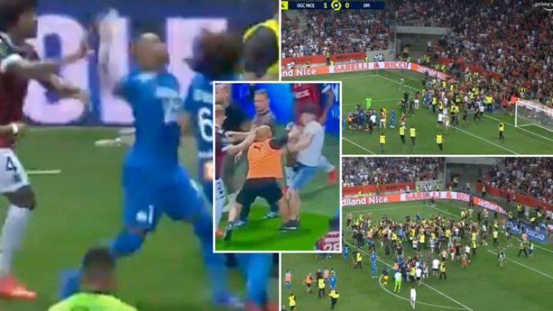 Pritet vendimi i ashpër për Nicen dhe Marseillen pas skenave të shëmtuara mes tifozëve dhe lojtarëve
