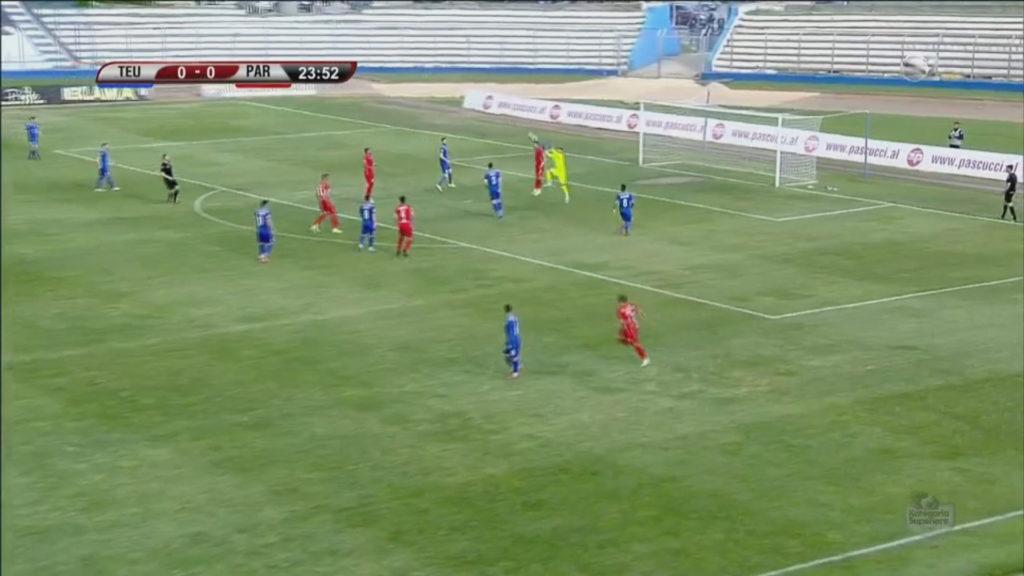 Nis sot Kampionati Shqiptar i Futbollit, Teuta-Partizani çelin Superioren