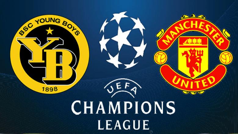 Formacionet zyrtare, Young Boys – Manchester United: Ronaldo nga minuta e parë