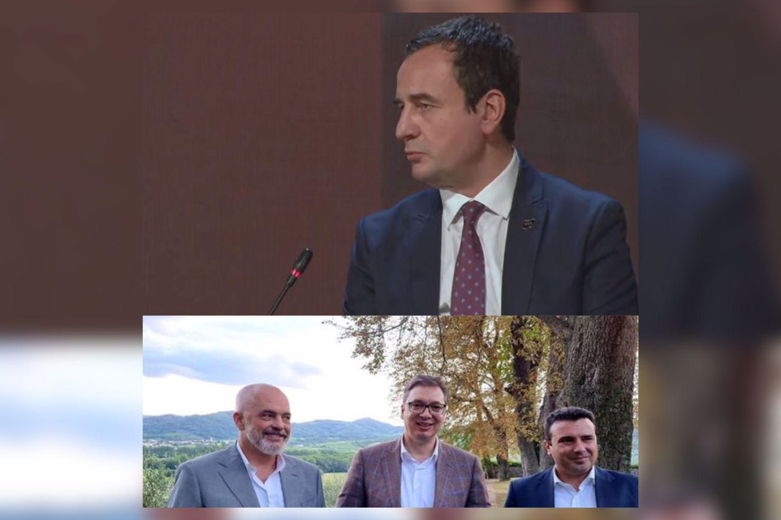 Dy shqiptarë në Bled: Kurti me alternativë, Rama me marrëzi