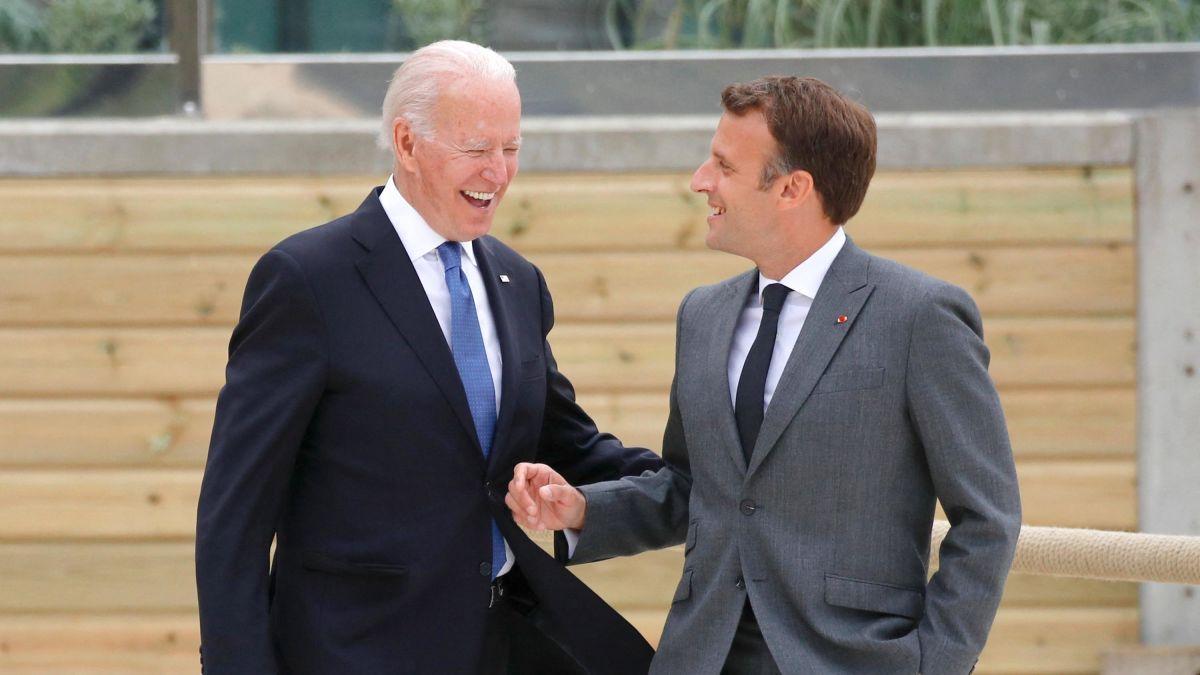 Bideni ka kërkuar të bisedojë me Macronin lidhur me Aukusin