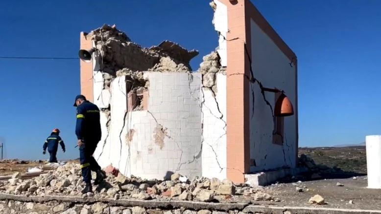 Tëmet i fortë me viktima dhe të plagosur në Kretë