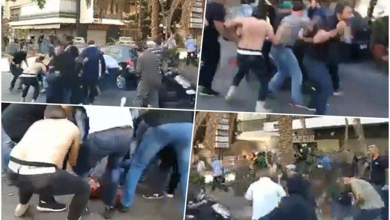 Të shtëna në një protestë në Bejrut, vriten dy persona dhe plagosen disa të tjerë – pamjet tregojnë kryeqytetin e Libanit në tym