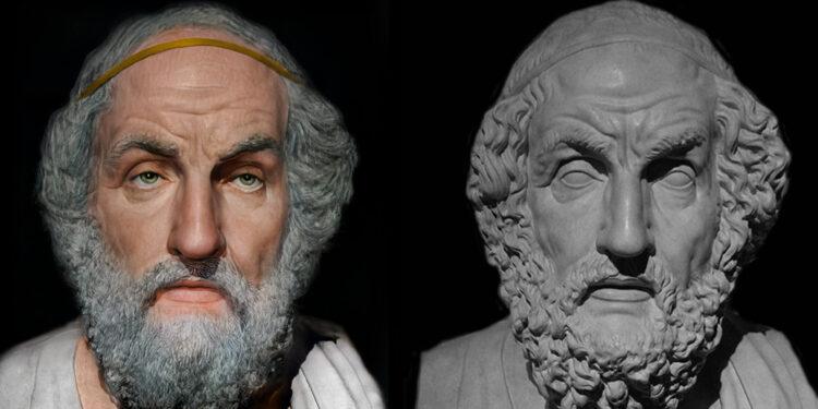 Pamje për mos tu humbur / Si dukeshin fytyrat e Aristotelit, Homerit dhe Aleksandrit të Madh etj? Artisti italian kthehet qindra shekujt pas në kohë