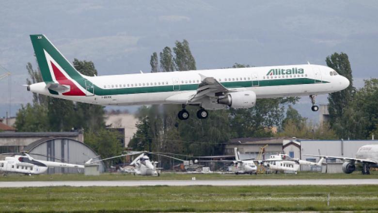 'Arrivederci': Fluturimi i fundit për kompaninë ajrore në telashe të Italisë, Alitalia