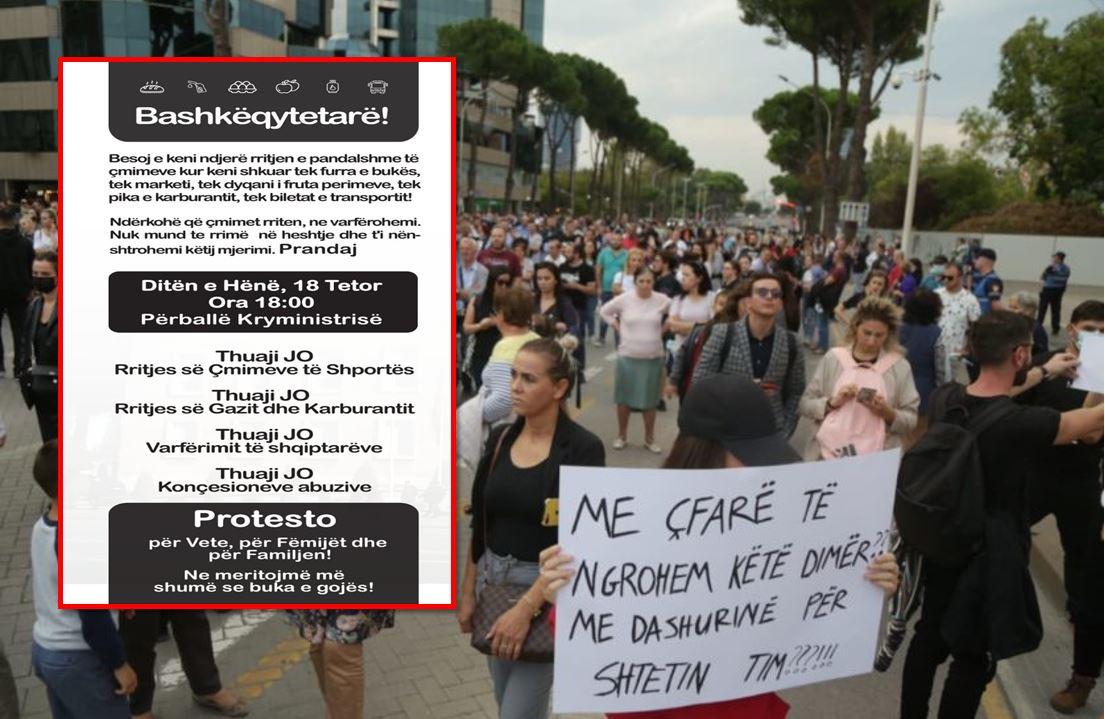 'Ne meritojmë më shumë se buka e gojës', qytetarët protesojnë sot