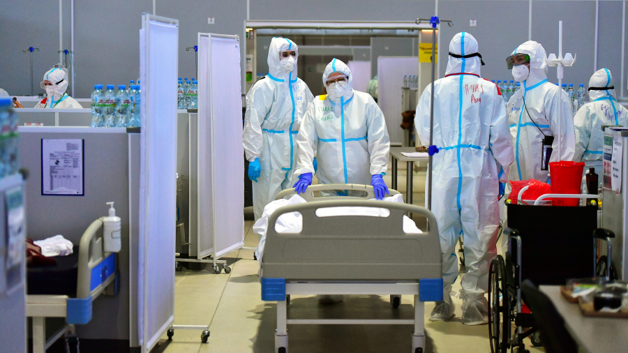 Rusia shënon për herë të parë 1,000 vdekje në ditë si pasojë e COVID-19