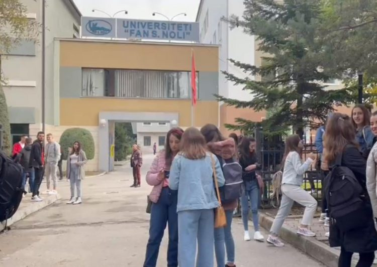 Sot pranohen në auditore, Zv. Rektori i Universitetit të Korçës: Do vaksinohen