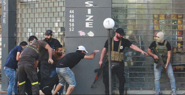 Të shtënat me armë gjatë protestës, 6 të vrarë, Libani shpall ditë zie