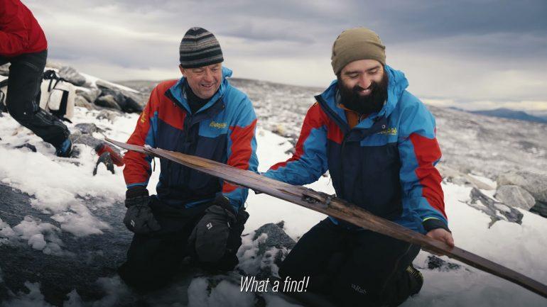 Arkeologët gjejnë ski prej druri 1.300-vjeçare në malet e Norvegjisë