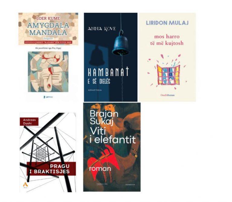 Çmimi Evropian i Letërsisë 2021, Shqipëria kandidade me 5 autorë