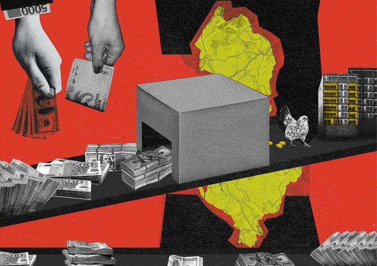 'Gjithçka shndërrohet në ndërtesa': Beteja e humbur e Shqipërisë me paratë e pista