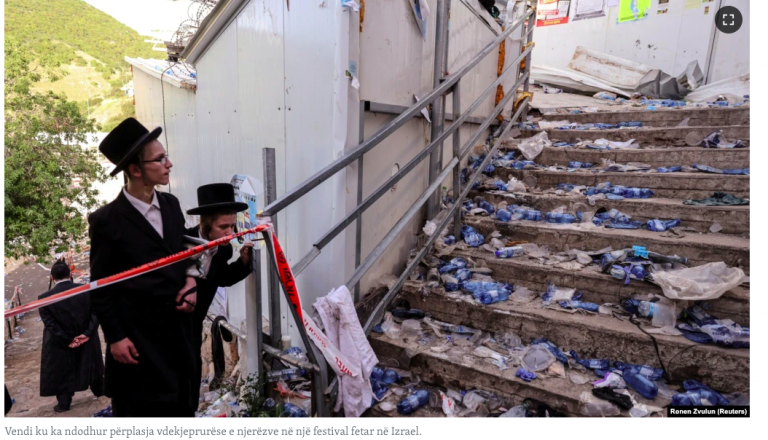 Netanyahu zotohet se do të hetojë tragjedinë në festival