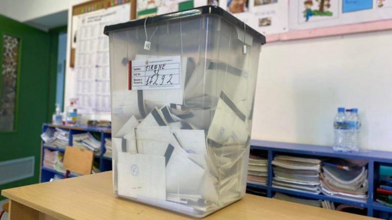 31,870 vota të pavlefshme deri tani, kryeson Elbasani