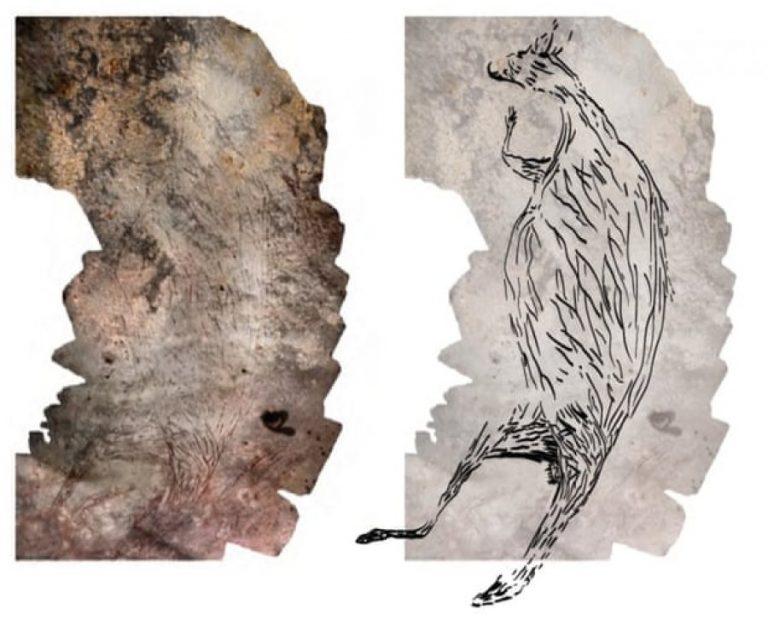Kanguri mbi 17.300-vjeçar bëhet vepra më e vjetër artistike në Australi
